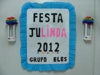 Festa Julinda 2012 - Grupo ELES 0