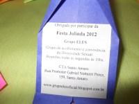 Festa Julinda 2012 - Grupo ELES 3